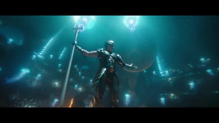 Aquaman Official Extended Trailer 2018